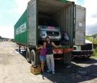 Containerverladen Panama