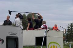 Dreharbeiten des ZDF