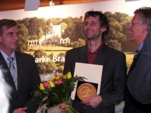 Preisverleihung des Brandenburgischen Tourismuspreise an freecamper