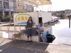 Wir übernehmen den freecamper in der Marina Wolfsbruch