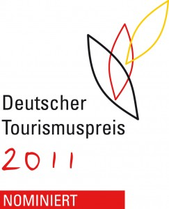Logo Deutscher Tourismuspreis 2011 Nominiert