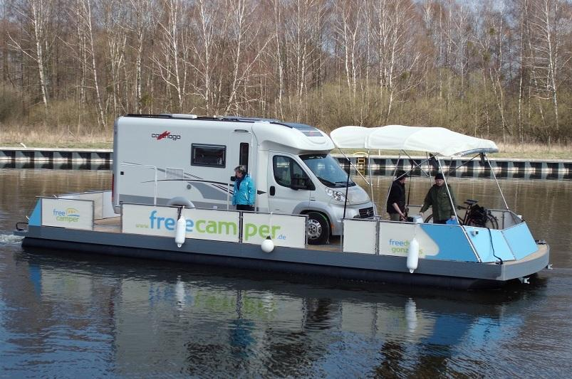 WoMo-freecamper mit Carthago Reisemobil