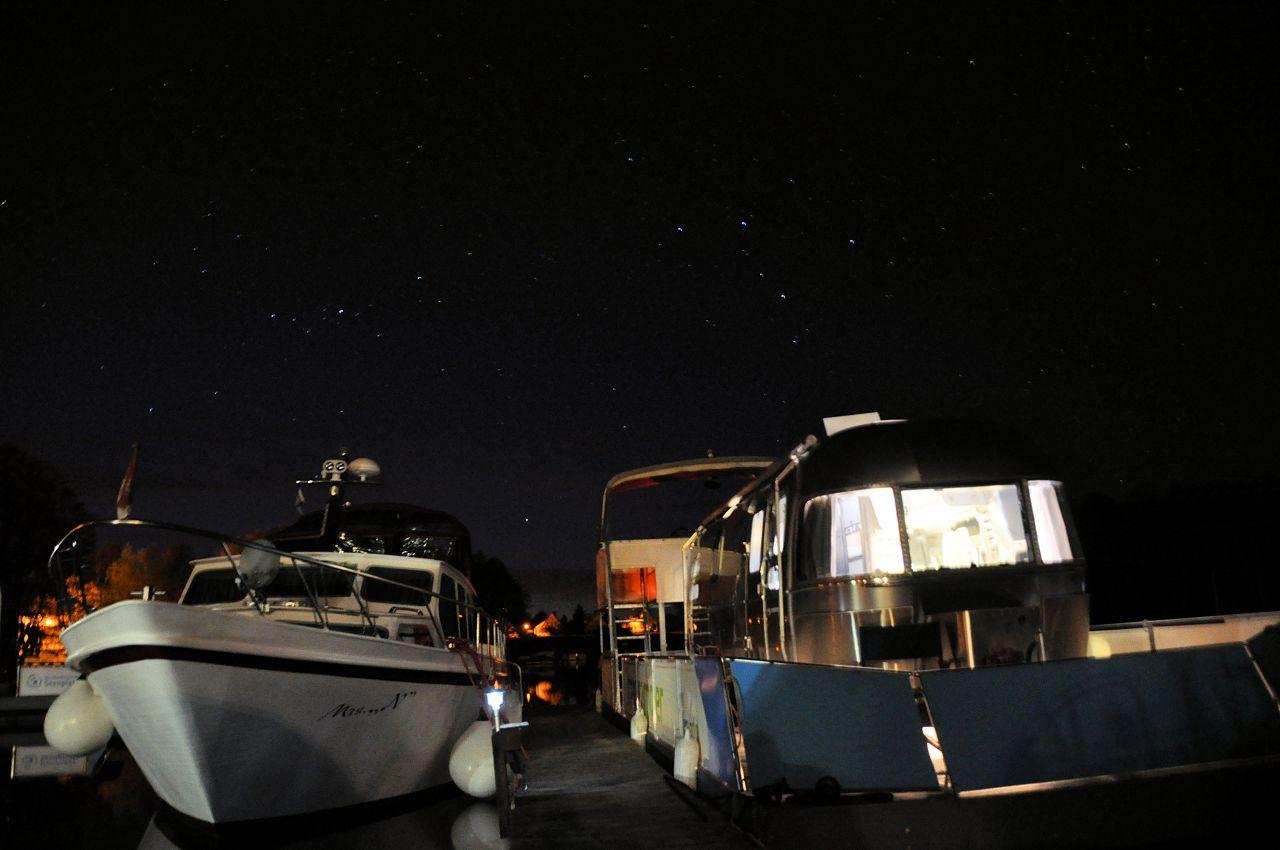 Hausboot der Luxusklasse