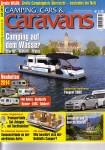 Camping,Cars & Caravans Titel Heft Juli 2013 - Der neue Trend: Camping auf dem Wasser