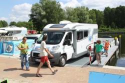 Die CampingErlebnisTour macht Station beim freecamper