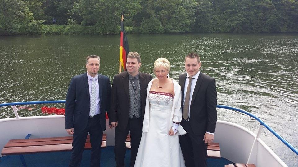 Michaela & René just married