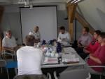 Die Arbeitsgemeinschaft Charterbescheinigung bei ihrem Treffen in Neuruppin