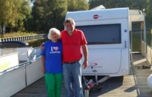 Carmen und Hans-Peter haben auf dem freecamper schnell den Alltag vergessen und abgeschaltet