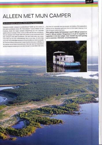 Duitsland magazine freecamper-Seite