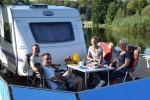 Diese 4 von der Ostsee konnten mit dem freecamper schon bald supertoll in die Schleuse einflutschen
