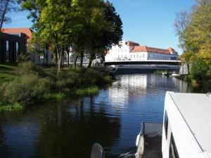der freecamper läuft in Oranienburg ein