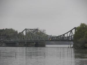 Auch die Glienicker Brücke passieren wir mit dem freecamper