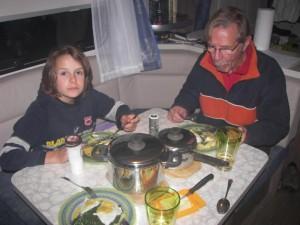 Lecker Hausmannskost aus der Wohnwagenküche