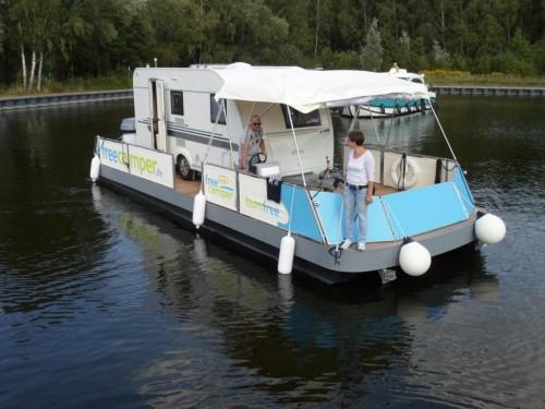 freecamper für kleine Wohnwagen
