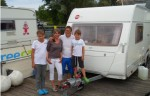 Team Edler auf dem freecamper