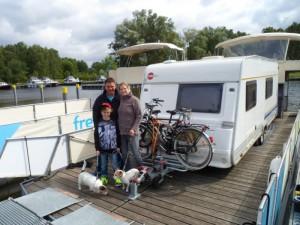 Niederrheiner mit Seehunden auf dem freecamper