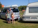 Die Niedersachsen fuhren mit dem freecamper und ihrem Wohnwagen durch eine abwechslungsreiche Havellandschaft