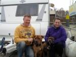freecamper mit Verena und Karsten und den zwei Hunden aus der Heide