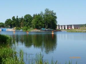 Ein weiterer Teil des Langen Trödels Finowkanal vor der Eröffnung am 16.06.2016