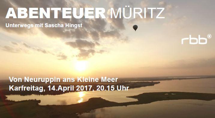 Fernsehtipp Karfreitag: Abenteuer Müritz