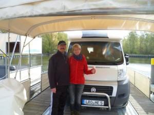 Mit freecamper und Wohnmobil auf Havel und Seenplatte unterwegs