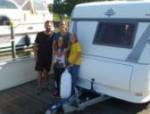 Camping auf dem Wasser für die Schweizer