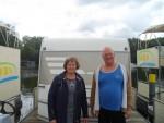 Diese Gäste aus dem Harz haben in ihrem Wohnwagen auf dem freecamper super entschleunigt.