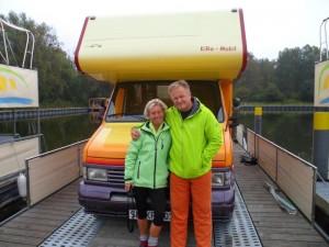 Kim und Ralf: freecamper für Wohnmobile ist optimal platzmäßig