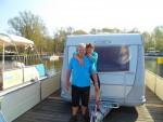 Eine Schnuppertour mit dem freecamper haben Hannelore und Burkhard im eigenen Wohnwagen unternommen und dabei die Nähe zur Natur, Ruhe und Stille genossen.