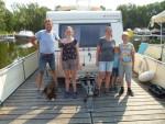 Für die Großen und Kleinen war die Woche auf dem freecamper mit dem Wohnwagen erholsam!