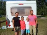 Die Gäste aus Brandenburg sind diesmal mit Wohnwagen und freecamper bis nach Waren an der Müritz gefahren.