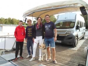 Waren mit dem freecamper und Camper in Neustrelitz und auf dem Kuhwallsee