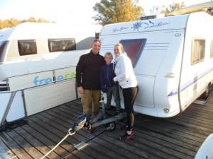 Super Sache: freecamper und Wohnwagen auf dem Wasser meinen diese Thüringer