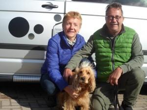 Elsbeth und Niklaus aus der Schweiz hatten mit Wohnmobil auf dem freecamper einen veritablen Sturm